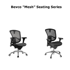 Bevco Mesh Seating Series