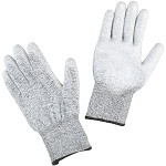 Desco 1713 ESD-Safe, Cut Resistant Gloves (XS - XXL)