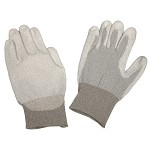 Desco 681- Dissipative Nylon Gloves w/ Polyurethane Coating (XS - 2XL)