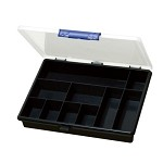 Eclipse SB-2419 Compartment Storage Box w/ 10 Fixed Compartments (9.4