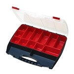 Eclipse SB-4536B Compartment Storage Case w/ Removable compartment bins (17.7